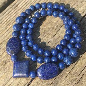 Jewelry - Lapis Lazuli gemstone Necklace